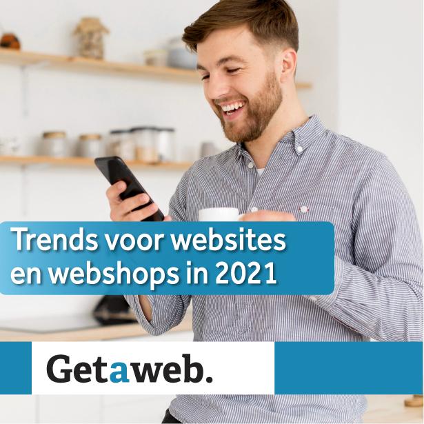 trends voor websites en webshops